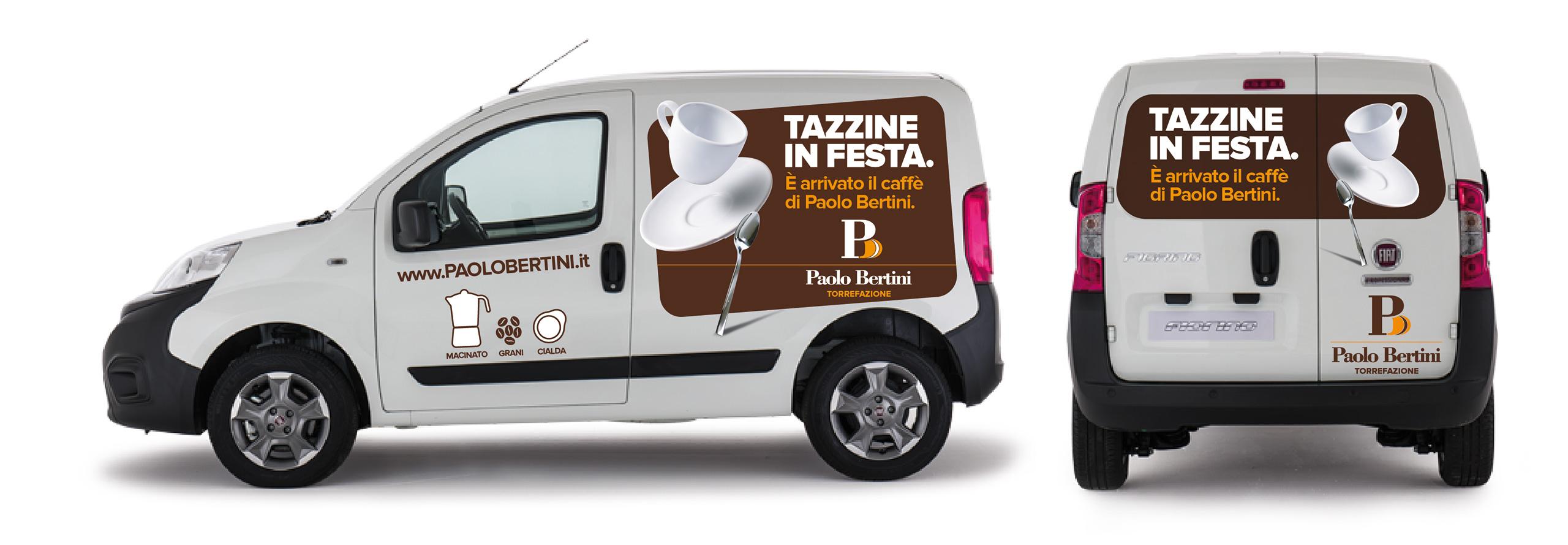 decorazione furgone Paolo Bertini